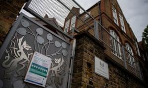 Galleywall primary school in London