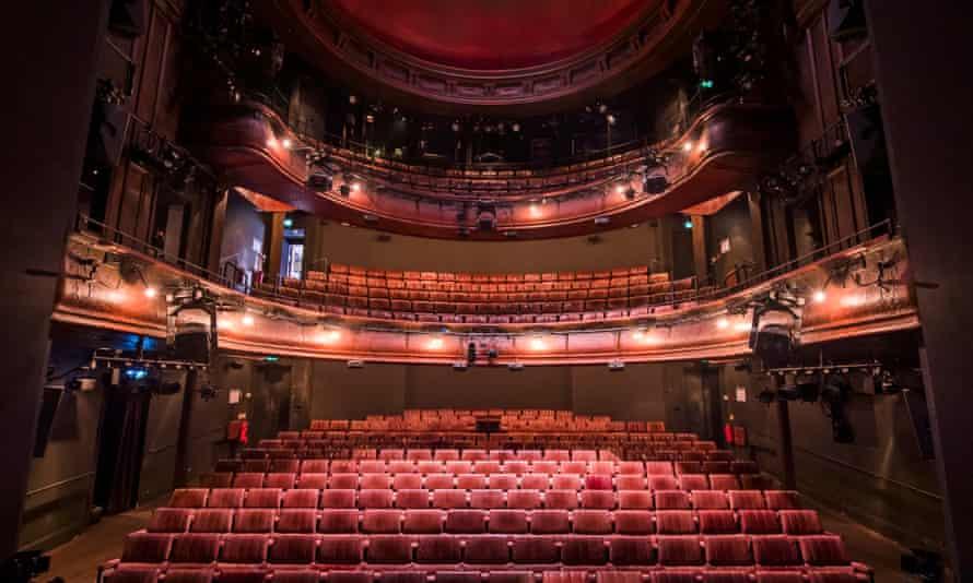 The Royal Court theatre auditorium