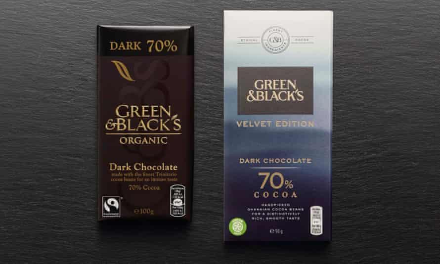 Green& Blacks Velvet Organic Range