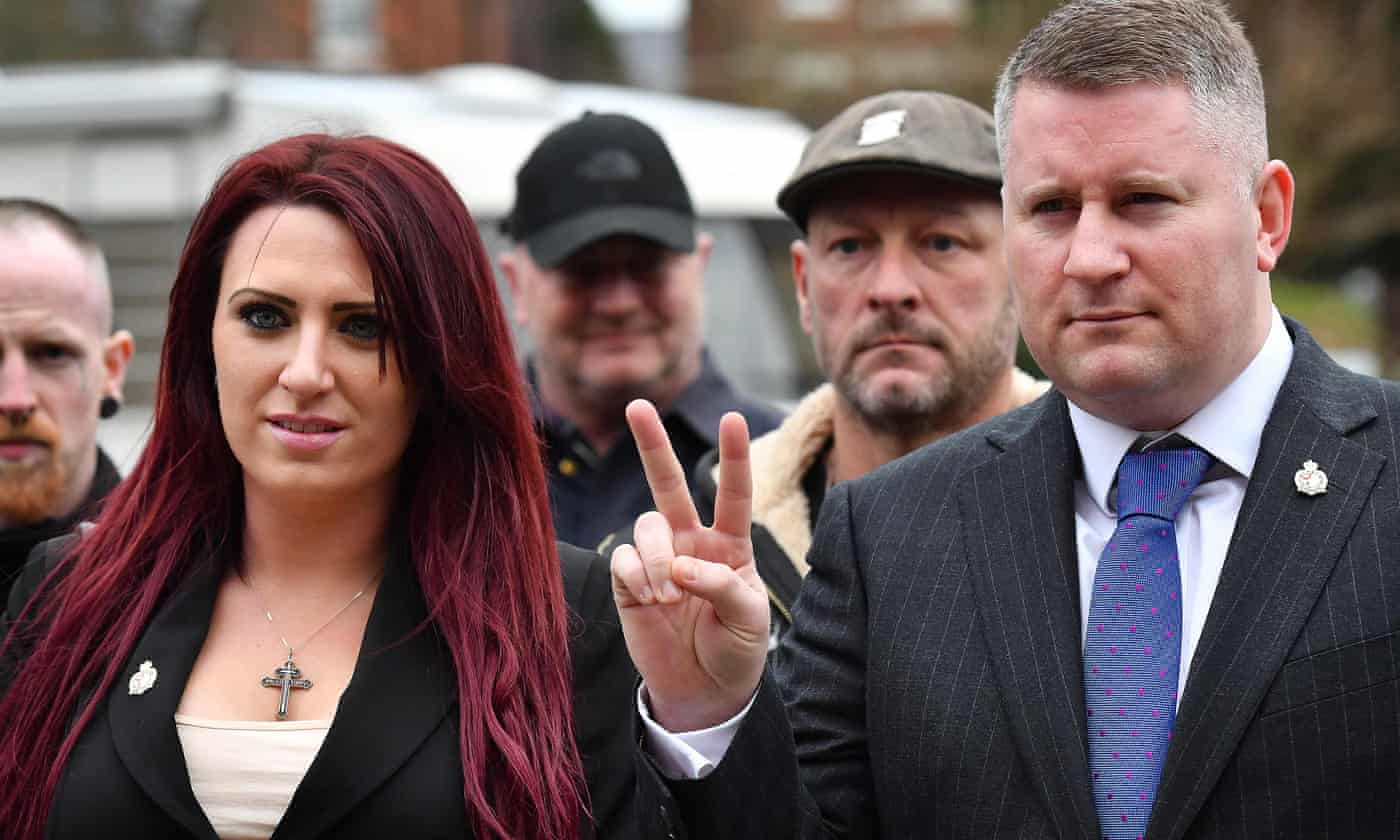 Britain First fined £44,000 over electoral law breaches