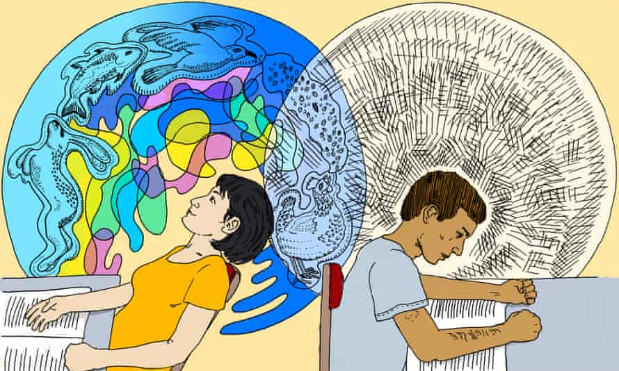 Studies have shown that mental imagery can help students grasp abstract concepts.