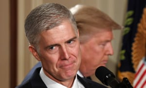 'Neil Gorsuch has all the makings of an extreme anti-abortion justice,' said David S Cohen of the Abortion Care Network.