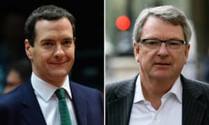George Osborne and Lynton Crosby