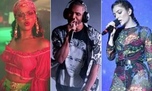 Hot takes ... Rihanna, Frank Ocean and Lorde.