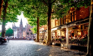 Sail from Hull to Zeebrugge in the evening, and you'll be relaxing in one of Bruges' cafes by the morning.