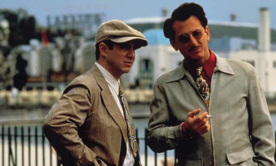 Rare gem? Sean Penn, right, in Woody Allen's Sweet and Lowdown.