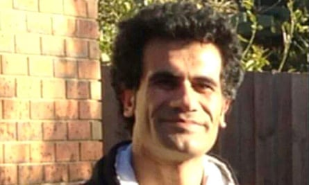 Faili Kurdish asylum seeker Fazel Chegeni, whose body was found on 8 November 2015, after he escaped from the Christmas Island detention centre.