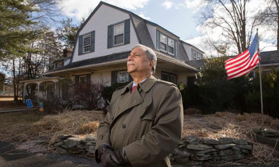 Mohammad Ali Chaudry, the founder and president of the Islamic Society of Basking Ridge, at the site of a proposed new mosque.