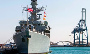HMS Montrose intervened to ward Iranian boats away from a BP oil tanker.