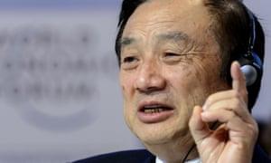 Una imagen de 2015 del fundador de Huawei, Ren Zhengfei.