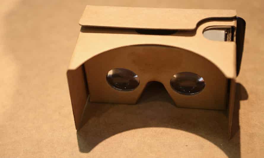 Google cardboard reader