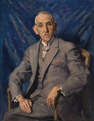 The Rt Hon. William Morris Hughes CH KC, 1927. George Washington Lambert (1873–1930)