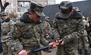 Nagorno-Karabakh: Azeri-Armenian ceasefire agreed in disputed region