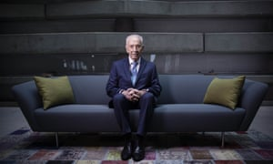 President Shimon Peres at the Peres Center for Peace in Jaffa, Israel.