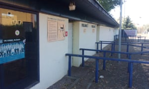 The old turnstiles still stand but the club is no more.