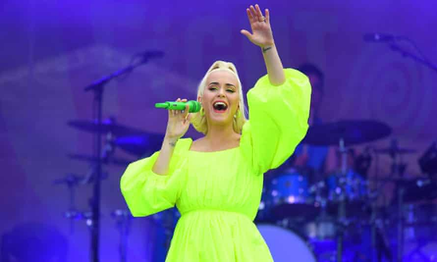 Katy Perry performing earlier this month.