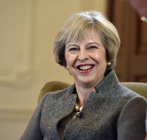 Theresa May: 'She has so far defined herself more in words than deeds.'