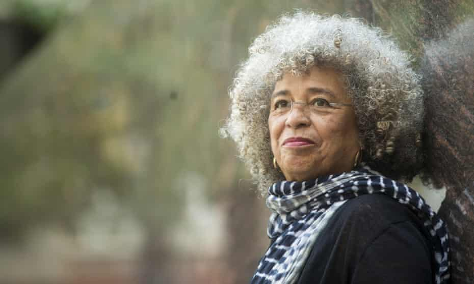 Angela Davis … 'We've never witnessed sustained demonstrations of this size that are so diverse.'