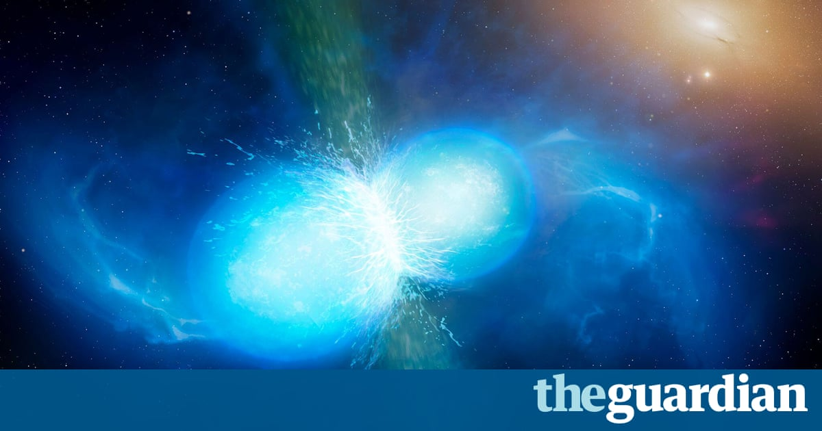 New frontier for science as astronomers witness neutron stars colliding