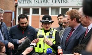 Louisa Rolfe, deputy chief constable of West Midlands police