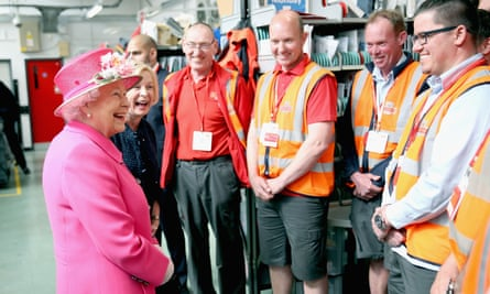 Queen Kicks Off Birthday Celebrations With Royal Mail Depot Visit