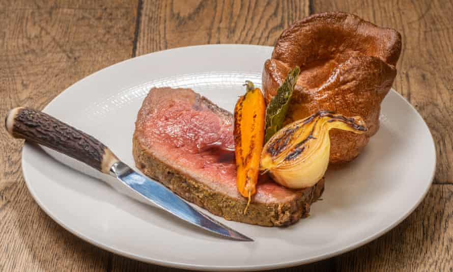 Pub grub with a difference: delicious food at the Star Inn.