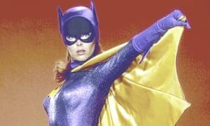 'Strong enough and smart enough' … Yvonne Craig as TV's Batgirl Barbara Gordon in 1967.