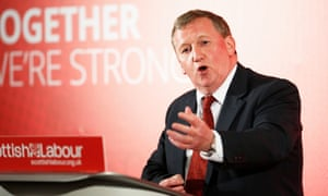 Alex Rowley, interim Scottish Labour leader,