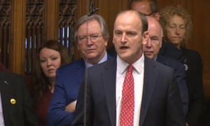 'Ukip's one MP, Douglas Carswell, stood up to be resoundingly booed by members drawn from all corners of the chamber.'