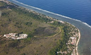 The regional Processing Centre 3 (RPC3), just inland from Ewa district on Nauru.