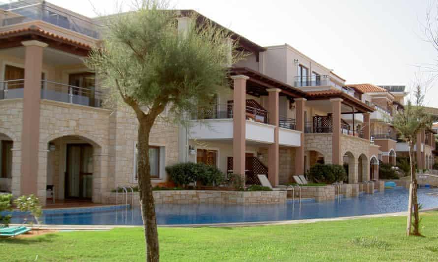 Caldera Palace hotel on Crete.