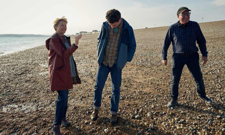William Nicholson on set with Annette Bening and Josh O'Connor: 'I'm taking the pain of people close to me and putting it out there.'
