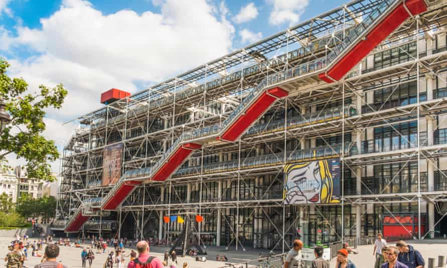 The Pompidou Centre in Paris will be closed in 2023 for renovations.