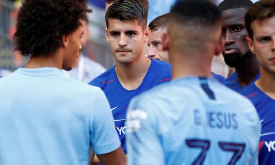 Alvaro Morata's struggles against City highlighted Chelsea's lack of striking quality.