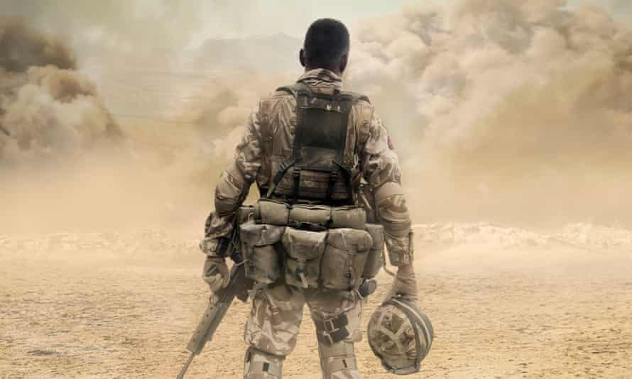 'It felt like some odd training exercise' … a British soldier in Afghanistan