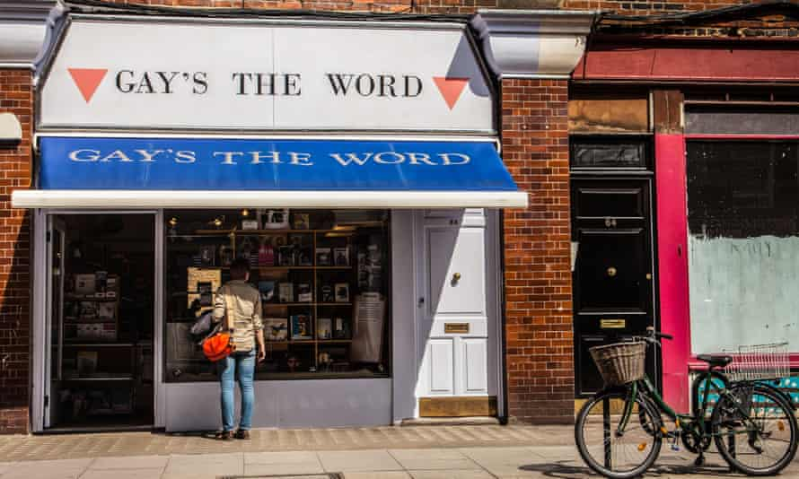 'The positive community response has been wonderful' … Gay's the Word LGBT bookshop, in London.