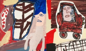 Jean Dubuffet's art brut works are on display at Pace London from 13 September.