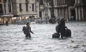 Flooding in Venice.