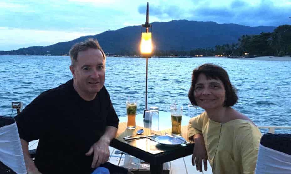 Jayne Wild and Gary Latham
