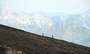 Gstaad's First Marathon on Glacier 3000