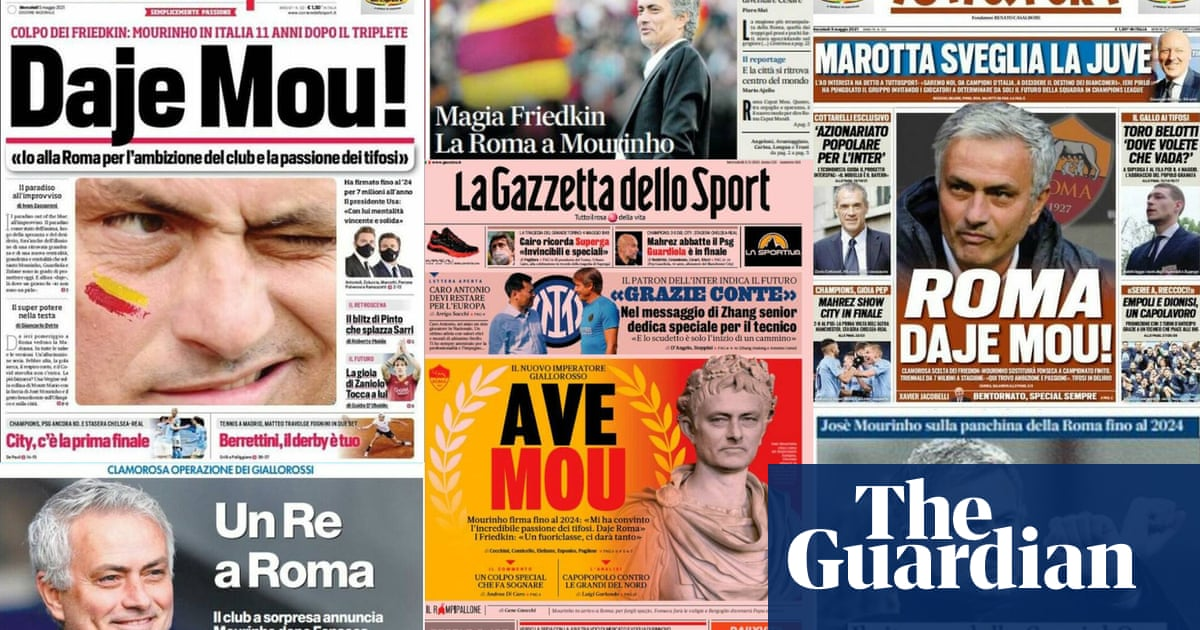José Mourinho at Roma: a 'special coup' or a gamble on nostalgia? | Nicky Bandini