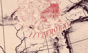 Spells abroad ... the Ilvermorny Wizarding School as seen on Pottermore
