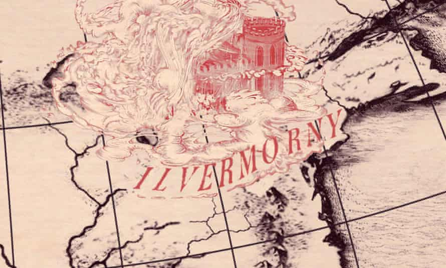 Ilvermorny wizarding school from JK Rowling's Harry Potter universe.