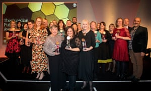 The Guardian Public Service Awards 2018 winners.