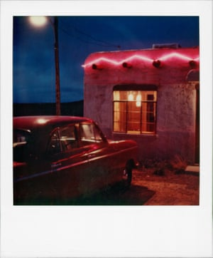 Sante Fe, New Mexico, while shooting Fool for Love, 1985.