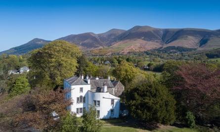 'A stately pleasure dome': Greta Hall, Cumbria, home to Samuel Taylor Coleridge.