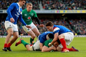 Conan touches down number three for Ireland.