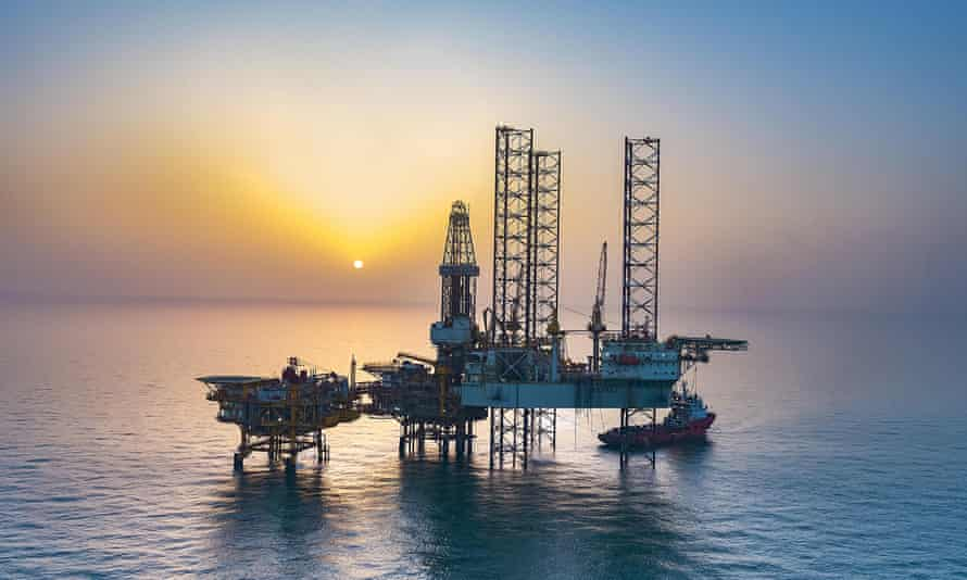 The Bozhong 13-2 field in the Bohai Sea, where China is opening a new oil and gas field.