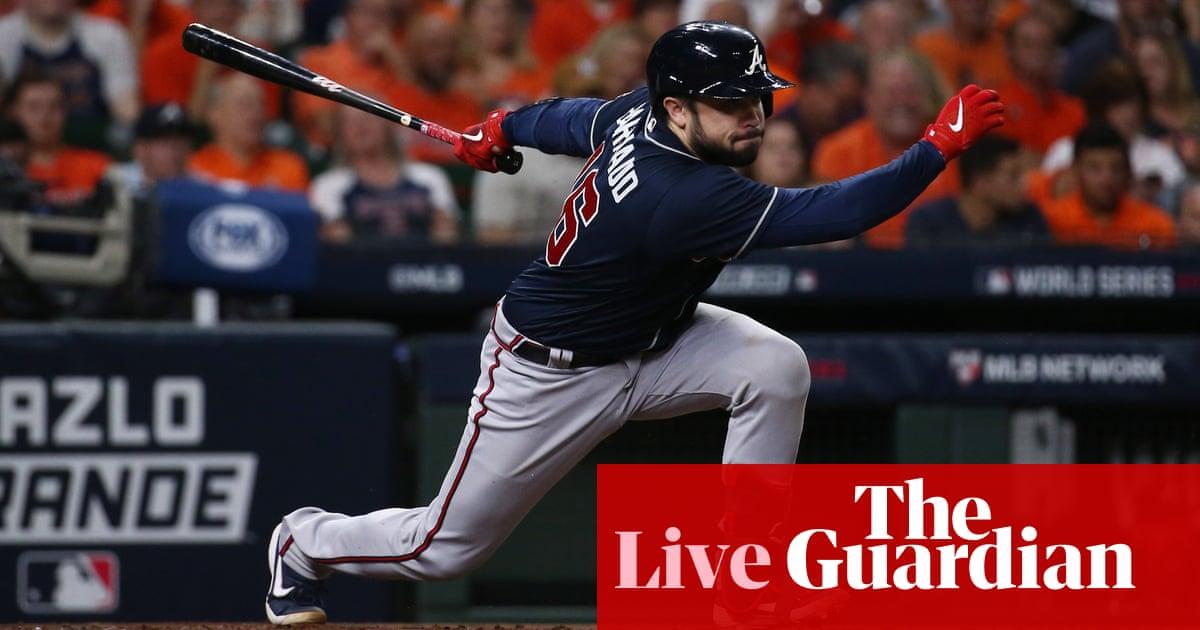 World Series Game 1: Atlanta Braves v Houston Astros – live!