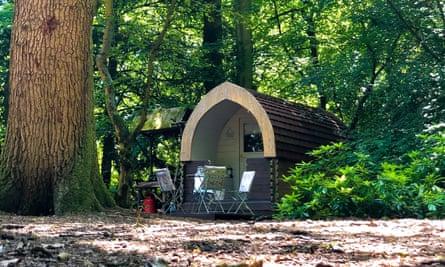Cabin at Hollington Park Glamping